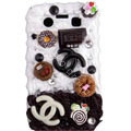 Chanel ice cream cake case for BlackBerry 9700 - brown