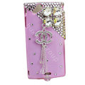 Bling Chanel crystals cases covers for Sony Ericsson Xperia Arc LT15I X12 LT18i - Pink
