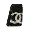 Bling covers Chanel diamond crystal cases for iPhone 3G - Black