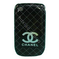 Chanel Hard Case Skin Covers For BlackBerry Curve 8520 9300 - Black