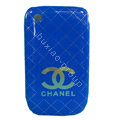 Chanel Hard Case Skin Covers For BlackBerry Curve 8520 9300 - Blue