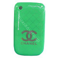 Chanel Hard Case Skin Covers For BlackBerry Curve 8520 9300 - Green