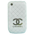 Chanel Hard Case Skin Covers For BlackBerry Curve 8520 9300 - White
