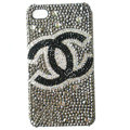 Chanel iphone 4G case crystal diamond cover - 01