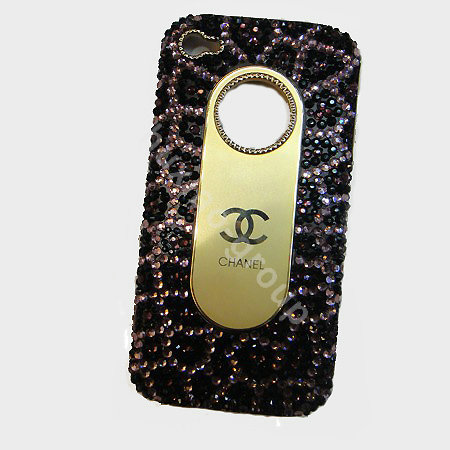 buy wholesale chanel iphone 4g case crystal diamond cover