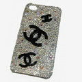 Chanel iphone 4G case crystal diamond cover - 06