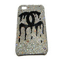 Chanel iphone 4G case crystal diamond cover - 08