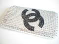 Fashion Crystal Diamond Cover Case for Apple iPhone 3G 3GS-Chanel