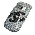 Chanel bling crystal case for Nokia C7 - black
