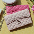 Chanel Handbag leather Case Wallet Holster Cover for Samsung N7100 GALAXY Note2 - Pink