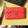 Chanel Handbag leather Case Wallet Holster Cover for Samsung N7100 GALAXY Note2 - Red