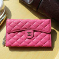 Chanel Handbag leather Case Wallet Holster Cover for Samsung N7100 GALAXY Note2 - Rose