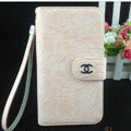 Chanel Rose pattern leather Case folder flip Holster Cover for Samsung Galaxy SIII S3 I9300 - Pink