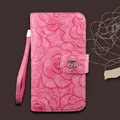 Chanel Rose pattern leather Case folder flip Holster Cover for Samsung N7100 GALAXY Note2 - Rose