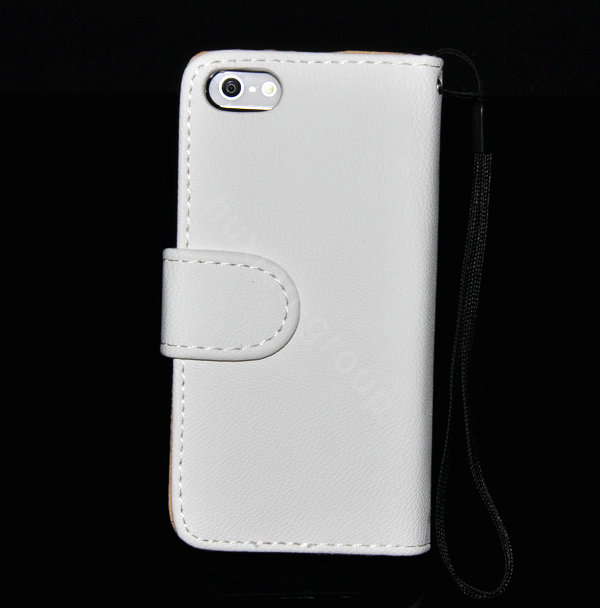 Best Book Cover For Iphone : Buy wholesale chanel bling folder holster cover book flip