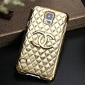 Chanel leather Case Hard Back Cover for Samsung Galaxy S5 i9600 - Gold