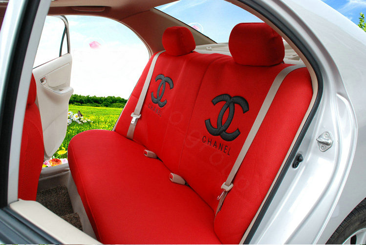 NAMEHigh Quality Oulilai Chanel Universal Automobile Car Seat Cover Sandwich 18pcs Sets