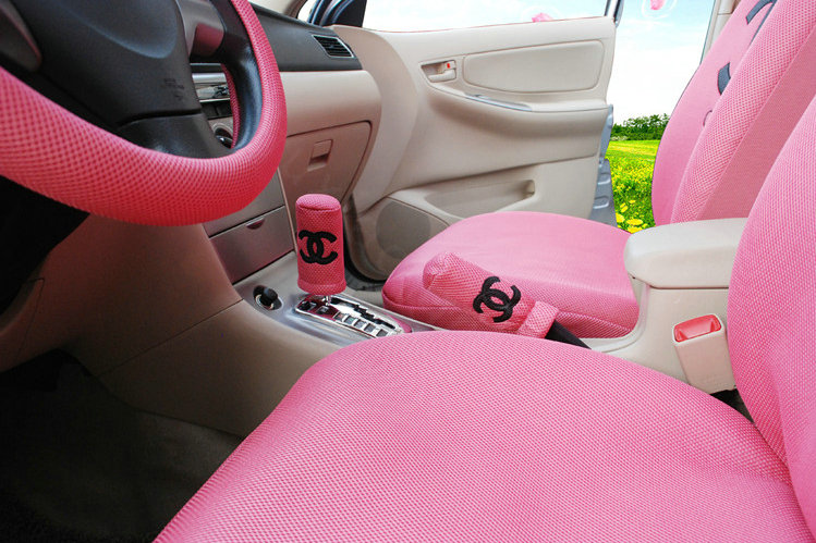 Buy Wholesale Luxury Oulilai Chanel Universal Automobile Car Seat Cover Sandwich 18pcs Sets Pink From Chinese Wholesaler I Bay Cn