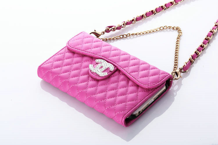 Wholesale Pretty Chain Chanel folder leather Case Book Flip Holster ...