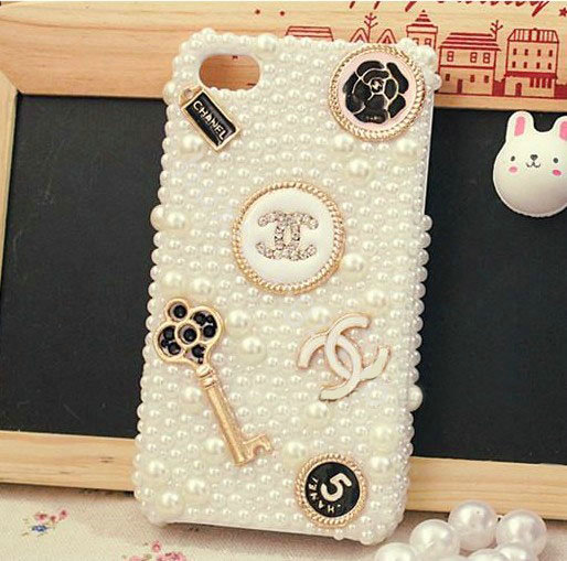 Buy Wholesale iPhone 6 Plus Bling Chanel crystal case ...