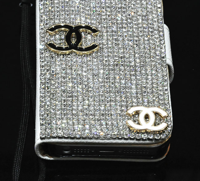 Buy Wholesale Three chanel bling folder holster cover book ...