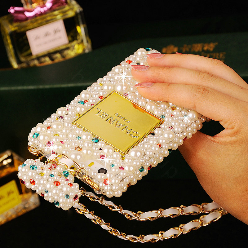 ... 0002092725012015 name luxury chanel bling crystal cases pearls scent