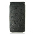 High Quality Chanel Vertical Flip Open Leather Case for Apple iPhone 3G / 3GS - Black