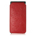 High Quality Chanel Vertical Flip Open Leather Case for Apple iPhone 3G / 3GS - Red