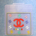 High Quality Chanel Universal Automotive Carpet Car Floor Mats Rubber 5pcs Sets - White