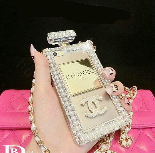 Buy Wholesale Bling Swarovski Chanel Perfume Bottle Good ...