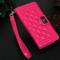 Chanel Handbag Leather Book Flip Holster Cases For Samsung Galaxy S6 Edge G9250 - Rose
