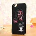 Cooling Chanel Floral Silicone Cases For iPhone 6 - Rose