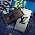 Personalized Chanel TPU Strap Soft Cases for iPhone 5S - Black