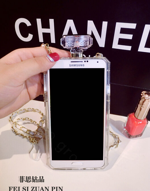 buy wholesale red lips chanel perfume bottle crystal case