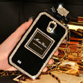 Swarovski Miss Dior Perfume Bottle Crystal Cases For Samsung Galaxy E7 E7000 E700F - Black