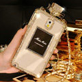 Swarovski Miss Dior Perfume Bottle Crystal Cases For Samsung Galaxy E7 E7000 E700F - White