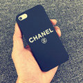 Unique Chanel Matte Hard Back Cases For iPhone 6 - Black
