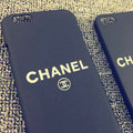 Unique Chanel Matte Hard Back Cases For iPhone 6S - Black
