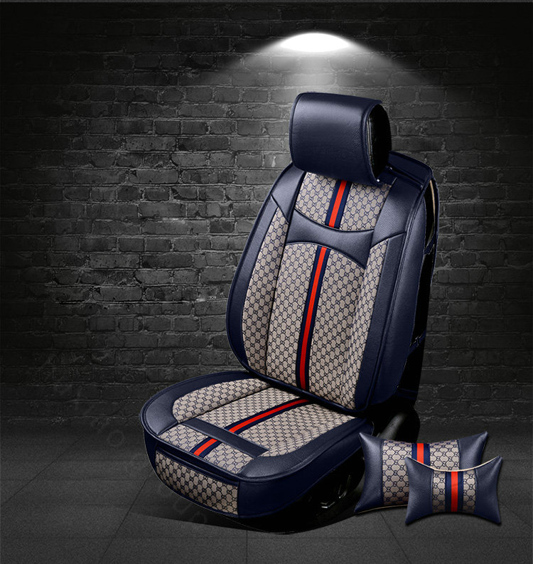 Sensational Buy Wholesale Luxury Leather Gucci Print Car Seat Covers Andrewgaddart Wooden Chair Designs For Living Room Andrewgaddartcom