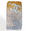 Chanel iPhone 8 case crystal diamond Gradual change cover - 03