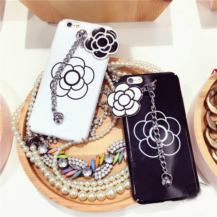 Buy Wholesale Chanel Camellia Chain Silicone Cases for ...
