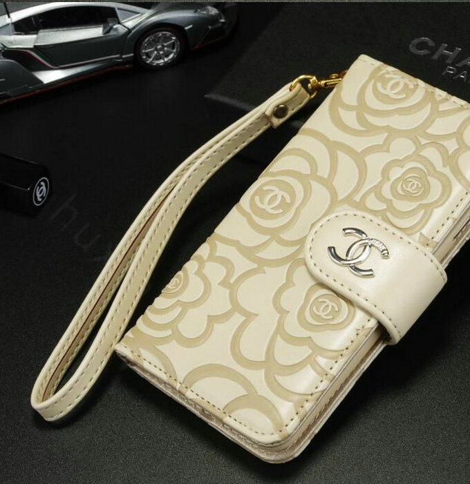 Buy Wholesale Chanel Rose Pattern Genuine Leather Case ...