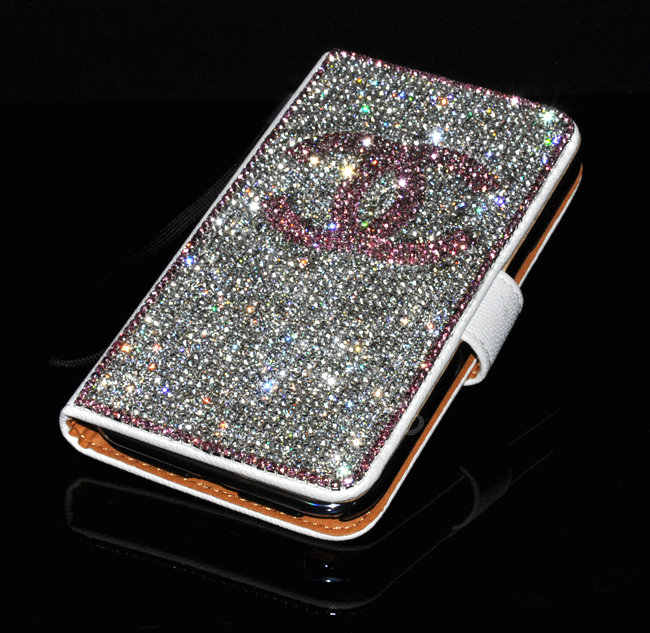 Buy Wholesale One chanel bling folder holster cover book ...
