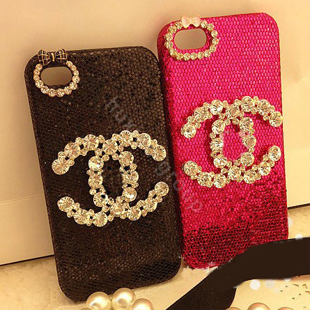 Buy Wholesale Chanel diamond Crystal Case Bling Cover for ...