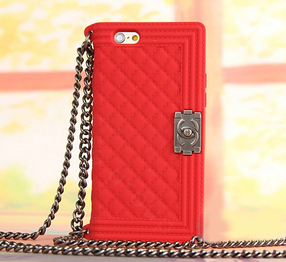 release date: 31d6e 7b963 Buy Wholesale Classic Chanel Chain Handbag Silicone Cases For iPhone ...