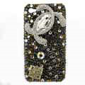 Chanel iPhone 7S Plus case Swarovski crystal diamond cover