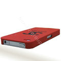 Chanel iPhone X case Ultra-thin scrub color cover - red