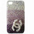 Chanel iPhone X case crystal diamond cover - 02