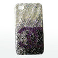 Chanel iPhone X case crystal diamond cover - 03