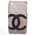 Chanel iPhone X case crystal diamond cover - 04